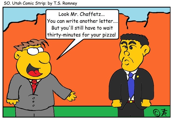 Cartoon Jason Chaffetz Waiting Time By T S Romney The Independent News Events Opinion More